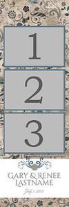 BLOSSOMY 3pic strip