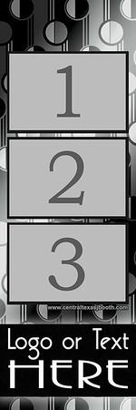 RETRO SILVER  3pic strip