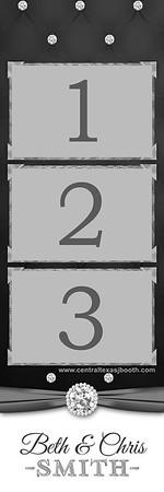 ELEGANT BLING 3pic strip