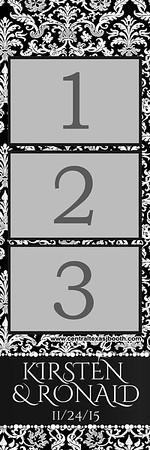 Ornate 3 pic strip