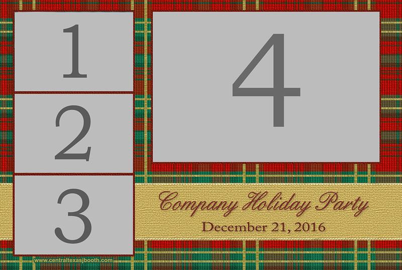holiday plaid 4x6
