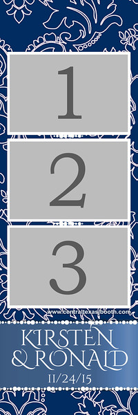 Blue Formal 3 pic strip