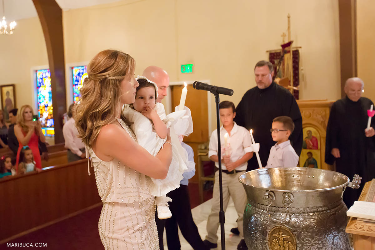 San Jose Greek Orthodox Baptism