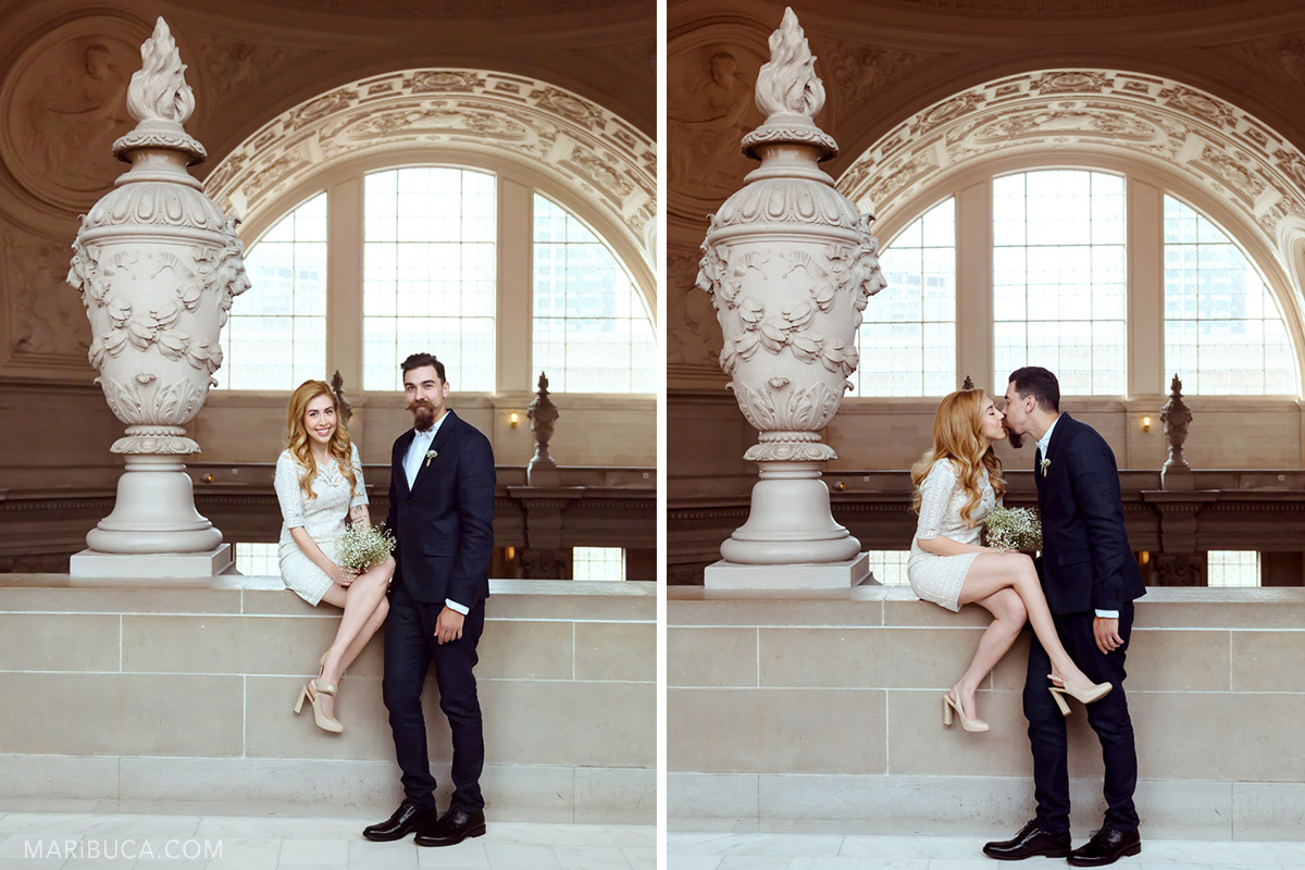 030-wedding-kiss-san-francicsco-city-hall-natural-lighting-couple
