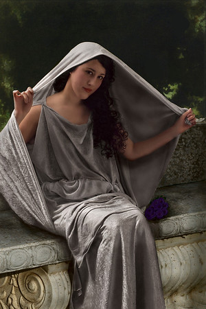 "Homage to ""The Veil"" by Bouguereau"