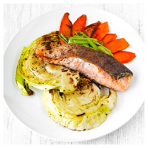 SALMON AND CABBAGE