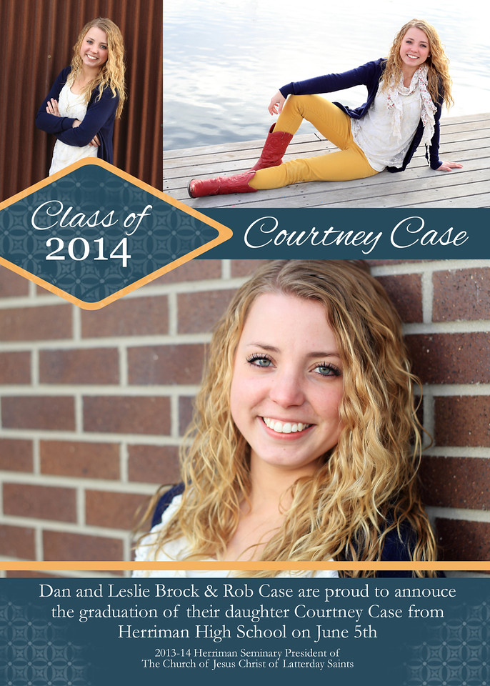 Courtney Graduation Invitation Final