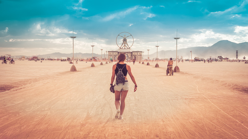 Burning Man and Creating Photo Series 9