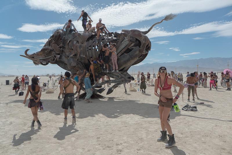 Burning Man and Creating Photo Series 1