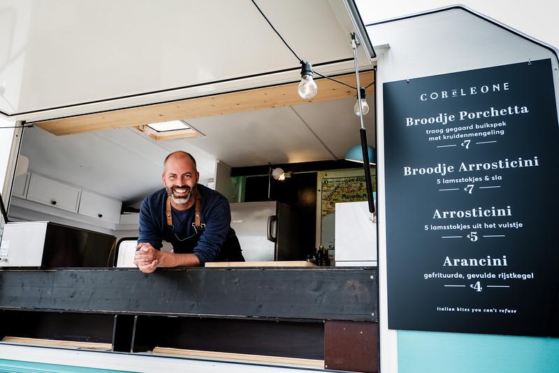 Cor e Leone op Straatbuffet