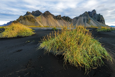 Black Sands at Vestrahorn
