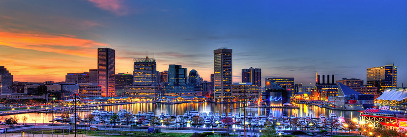 Baltimore Twilight