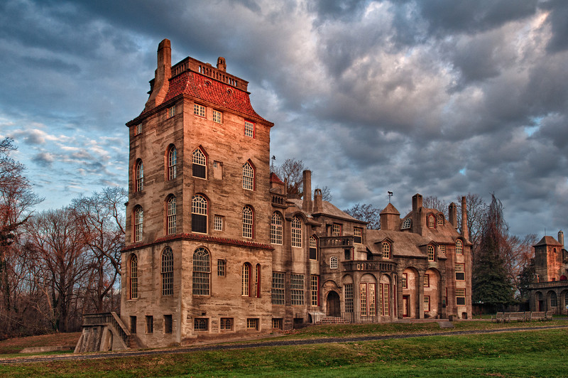 The Fonthill Mansion in Doylestown, PA.