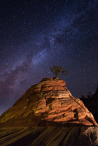Milky Way over Zion