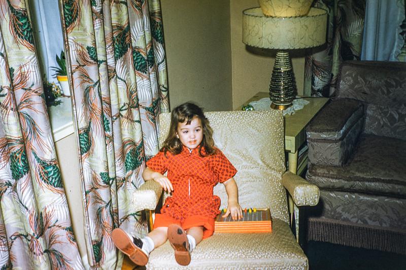 3-34 Robin in chair FEB 1960