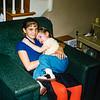 3-17 Robin and Susan cuddle FEB 1960