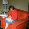 3-20 Sharon with homework FEB 1960
