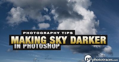 Creating a Dark Blue Sky in Photoshop in Under One Minute