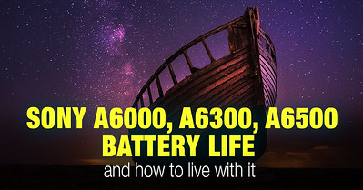 How good is Sony a6000 battery life