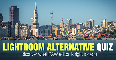 Find Adobe Lightroom alternative by taking the Quiz
