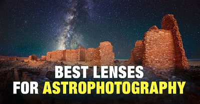 Top-Rated Lenses for Astrophotography for FUll Rame, APS-C, and Micro 4/3 cameras