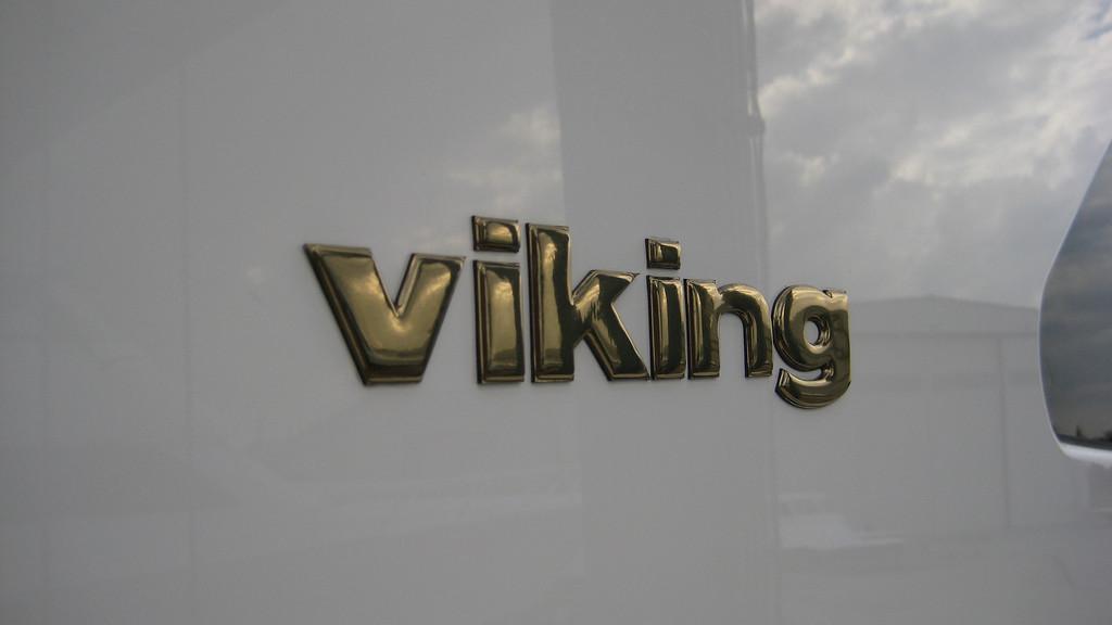 gold viking logo
