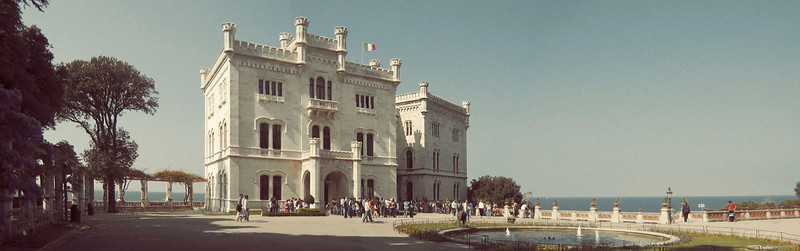 Miramare Castle on the Gulf of Trieste. Photo © Brandon Vick Photography, https://www.brandonvickphotography.com/