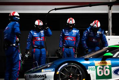 #66 FORD CHIP GANASSI TEAM UK / USA / Ford GT -WEC Prologue at Circuit Paul Ricard - Circuit Paul Ricard - Le Castellet - France -