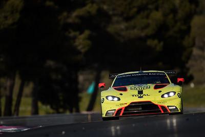 #95 ASTON MARTIN RACING / GBR / Aston Martin Vantage AMR -WEC Prologue at Circuit Paul Ricard - Circuit Paul Ricard - Le Castellet - France -