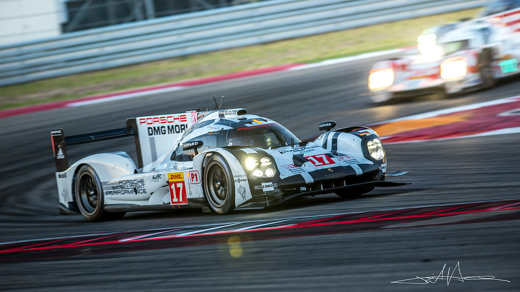 Timo BERNHARD, Mark WEBBER, Brendon HARTLEY	Porsche 919 Hybrid, Winner of 6 Hours of Circuit of the Americas