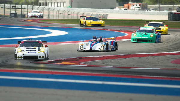 Turn 3-4-5 at Circuit of the Americas during 6-hr WEC