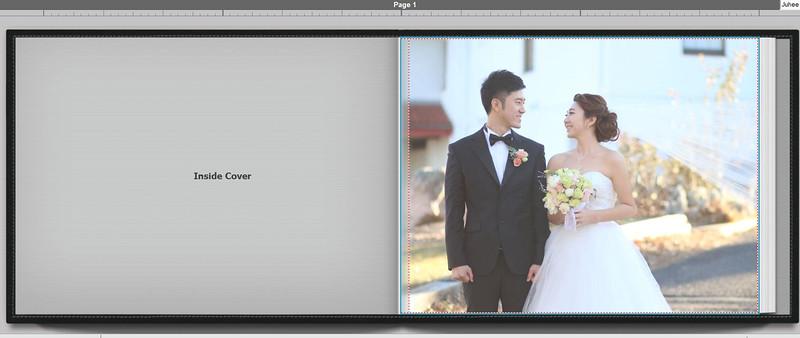 WEDDING ALBUM PROOF/   Hyeongsup