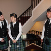 45. Some of the bagpipers.