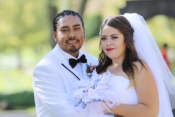LENISSA AND ADRIAN WEDDING