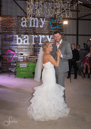 Amy & Barry Wed