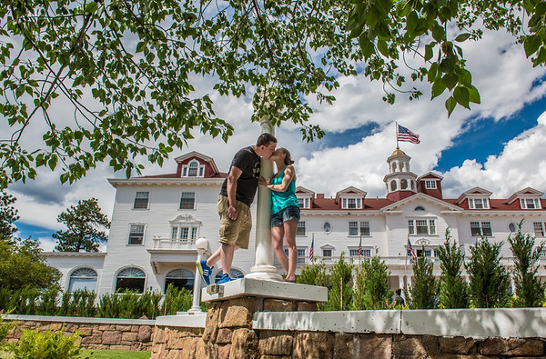 Holly and Justin Stanley Hotel Shoot