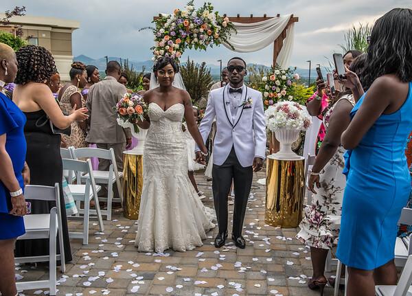 ISATINA AND ARMAH WEDDING July 28, 2018
