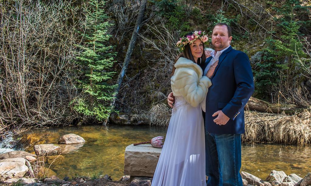 Katey and Chris Wedding, Blackstone Rivers Ranch, Colorado, April21, 2017