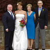 Wedding day - with bride's parents