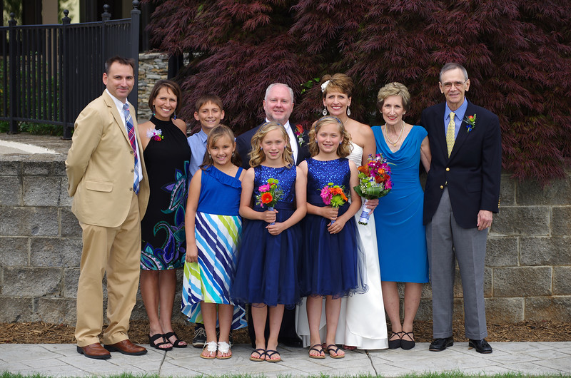Wedding day - Watts Family