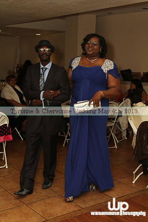 Tyrone & Chervonne Wedding Reception