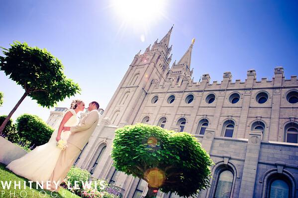 ET Newlyweds SLC Temple