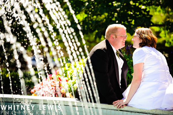 KT Newlyweds - Jordan River Temple