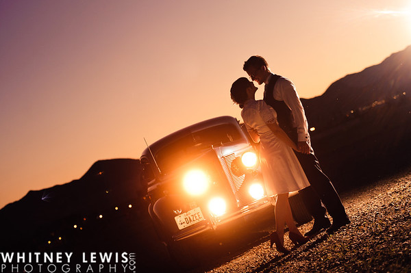 AS Formals (Vintage Car in Daybreak)