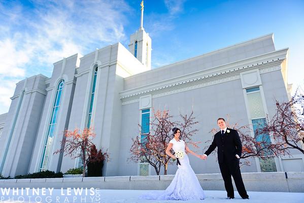 B&J Newlyweds (Timpanogos Temple)