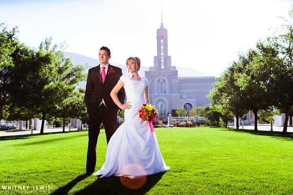 HS Newlyweds (Timpanogos Temple & Sleepy Ridge)