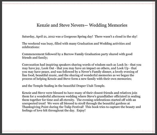 KS Wedding Album