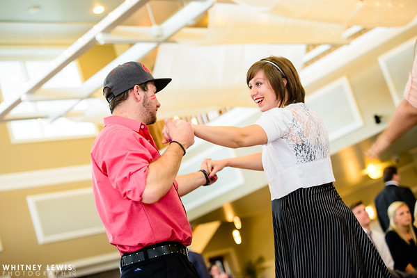 LB Reception Dancing
