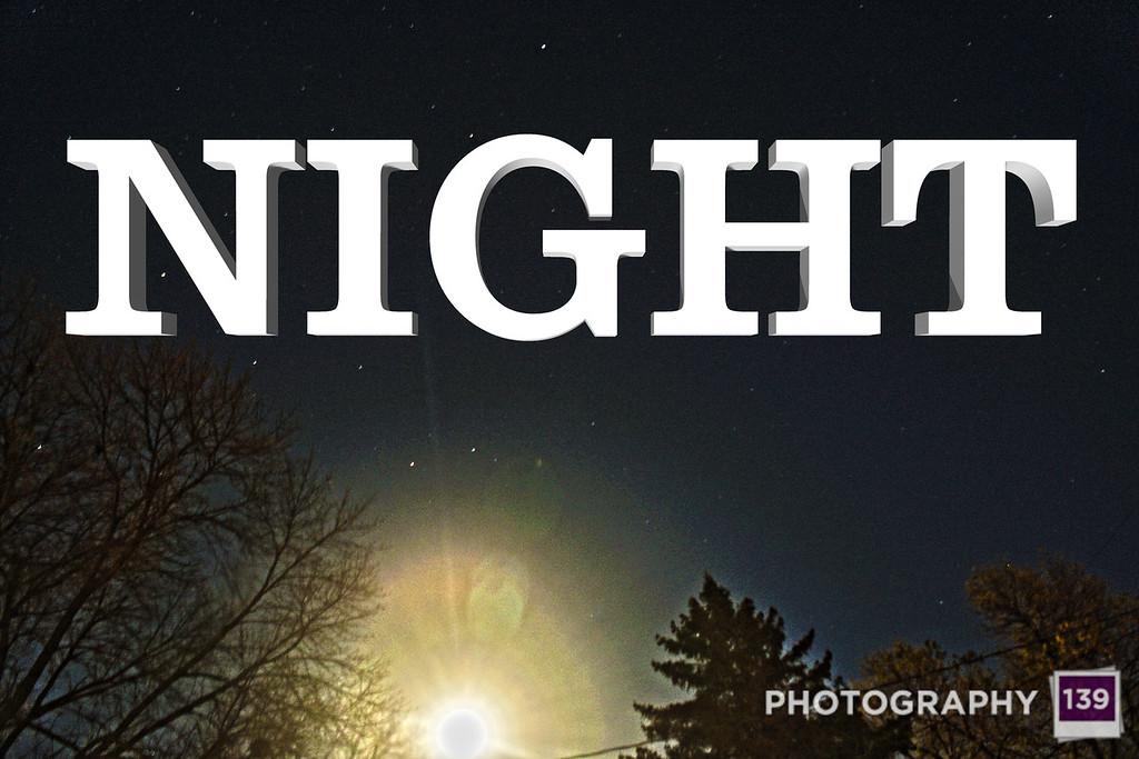 WEEK 62 - NIGHT