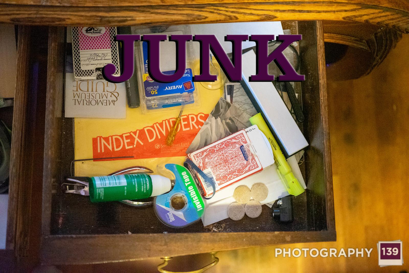 Week 313 - Junk